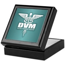 Caduceus DVM Keepsake Box