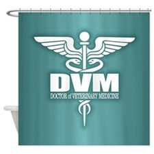 Caduceus DVM Shower Curtain