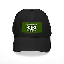 40th Birthday Golf Baseball Cap