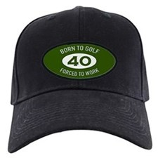 40th Birthday Golf Baseball Hat