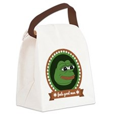 Feels Good Man Canvas Lunch Bag