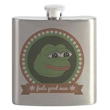 Feels Good Man Flask
