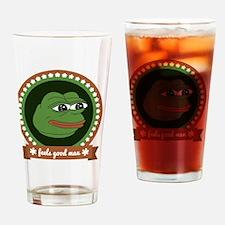 Feels Good Man Drinking Glass