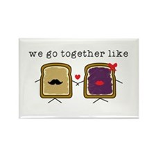 We go Together Like PB&J Magnets