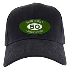 50th Birthday Golf Baseball Hat