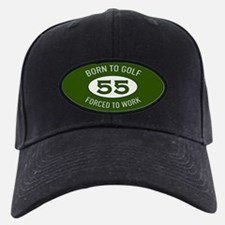 55th Birthday Golf Baseball Hat