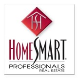 Homesmart professionals Square Car Magnets
