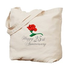 ANNIVERSARY 25TH Tote Bag
