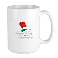 ANNIVERSARY 25TH Mugs