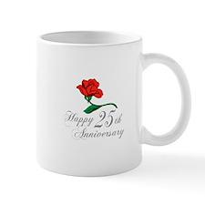 ANNIVERSARY 25TH Mugs