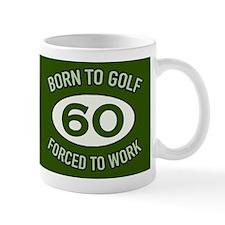 60th Birthday Golf Mugs