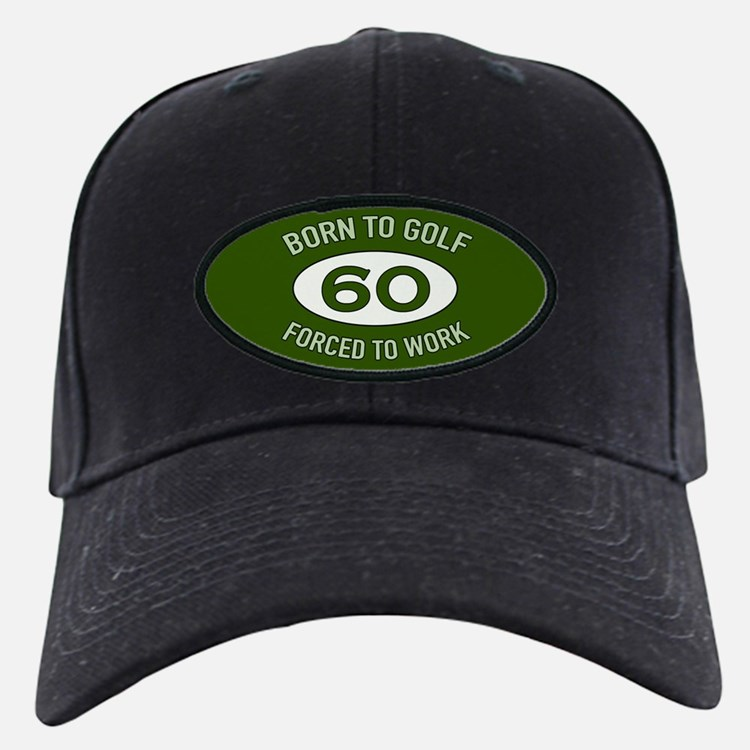 60th Birthday Golf Baseball Hat