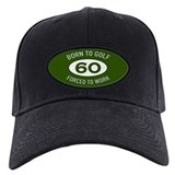Golfers 60 Baseball Cap with Patch