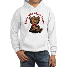 Beary Wild About Books Hoodie