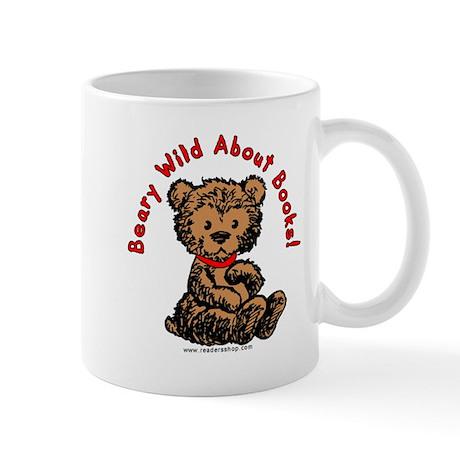 Beary Wild About Books Mug