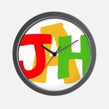 JAH! Wall Clock
