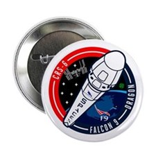 "CRS-6 Logo 2.25"" Button"