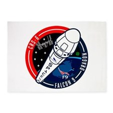 CRS-6 Logo 5'x7'Area Rug