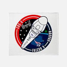 SpX 6 Logo Throw Blanket