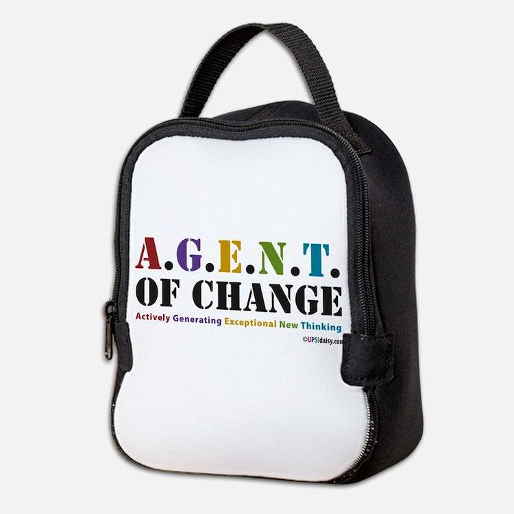 Agent of Change Neoprene Lunch Bag