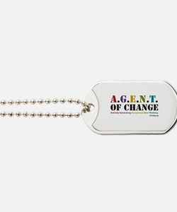 Agent of Change Dog Tags