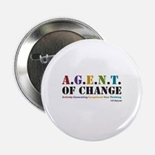 "Agent of Change 2.25"" Button (100 pack)"