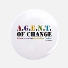 """Agent of Change 3.5"""" Button"""