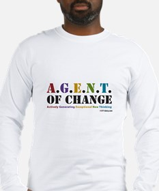 Agent of Change Long Sleeve T-Shirt