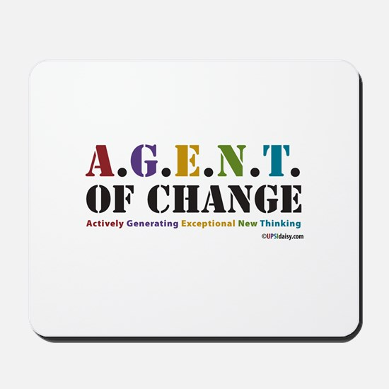 Agent of Change Mousepad