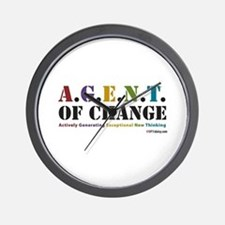 Agent of Change Wall Clock