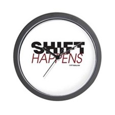 Shift Happens Wall Clock