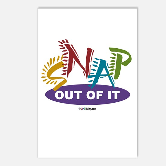 Snap Out of It Postcards (Package of 8)