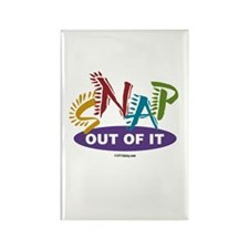 Snap Out of It Rectangle Magnet