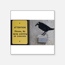 ConcreteBird ©LeslieHarlow Sticker