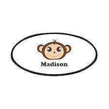Custom Name Cute Happy Monkey Patches