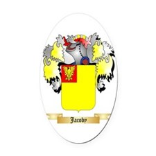 Jacoby Oval Car Magnet