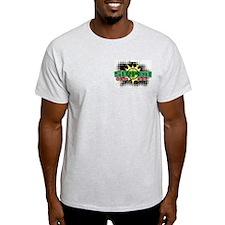 Sniper @ eShirtLabs.Com Ash Grey T-Shirt