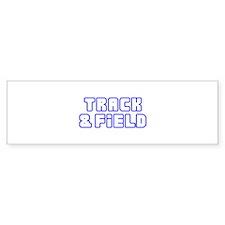 OPEN TRACK AND FIELD Bumper Bumper Sticker