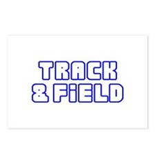 OPEN TRACK AND FIELD Postcards (Package of 8)