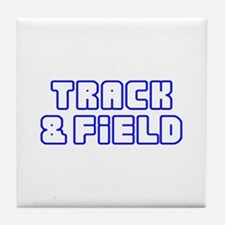 OPEN TRACK AND FIELD Tile Coaster