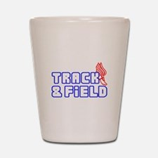 OPEN TRACK AND FIELD WITH SHOE Shot Glass