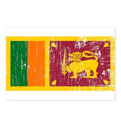 Vintage Sri Lanka Postcards (Package of 8)