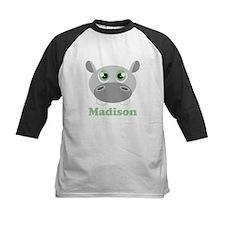 Custom Name Cute Hippo Tee