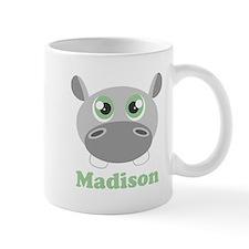 Custom Name Cute Hippo Mug