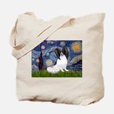 Starry Night Papillon Tote Bag
