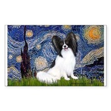 Starry Night Papillon Decal
