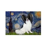 Starry Night Papillon Rectangle Magnet