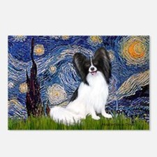 Starry Night Papillon Postcards (Package of 8)
