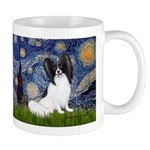 Starry Night Papillon Mug