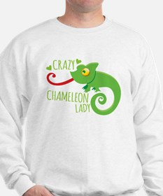 Crazy Chameleon Lady Jumper